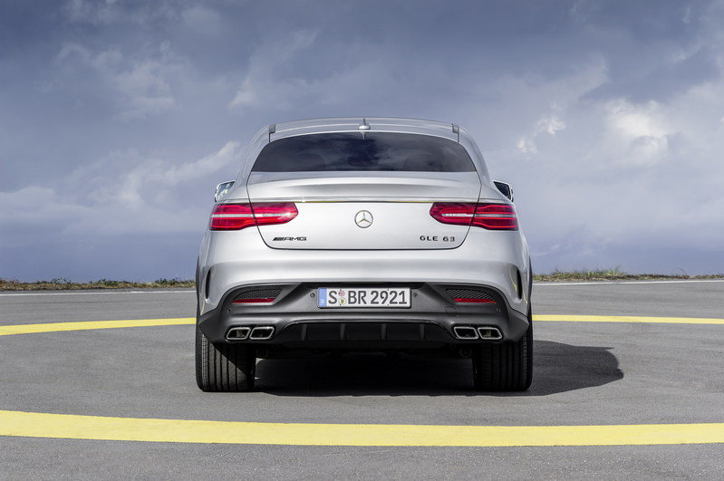 2016 Mercedes-Benz GLE63 AMG Coupe High Resolution Exterior - image 610167