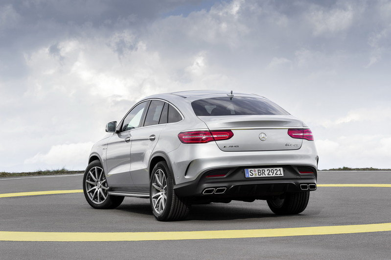 2016 Mercedes-Benz GLE63 AMG Coupe High Resolution Exterior - image 610168