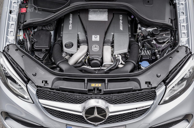 2016 Mercedes-Benz GLE63 AMG Coupe Drivetrain - image 610169