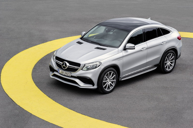2016 Mercedes-Benz GLE63 AMG Coupe High Resolution Exterior - image 610170