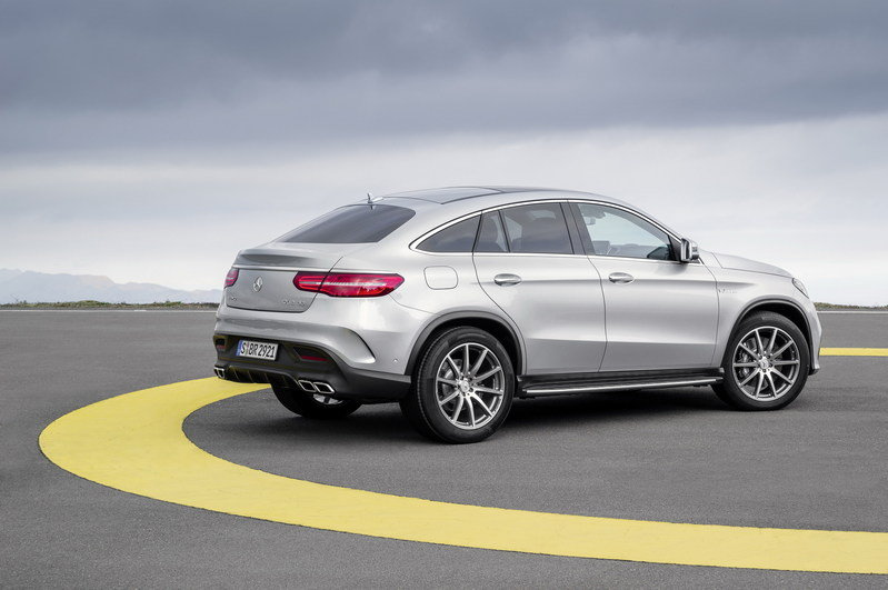 2016 Mercedes-Benz GLE63 AMG Coupe High Resolution Exterior - image 610171