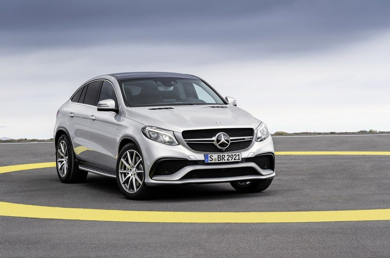 2016 Mercedes-Benz GLE63 AMG Coupe High Resolution Exterior - image 610172