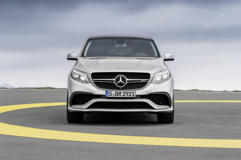 2016 Mercedes-Benz GLE63 AMG Coupe High Resolution Exterior - image 610173