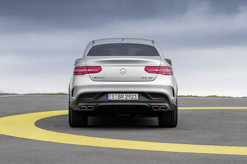 2016 Mercedes-Benz GLE63 AMG Coupe High Resolution Exterior - image 610174