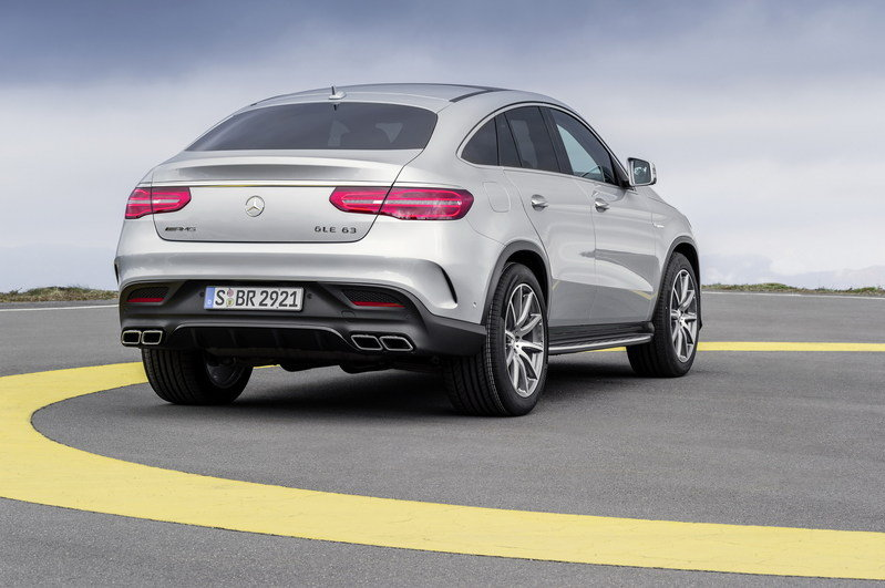 2016 Mercedes-Benz GLE63 AMG Coupe High Resolution Exterior - image 610175