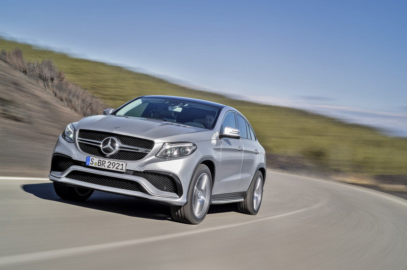 2016 Mercedes-Benz GLE63 AMG Coupe High Resolution Exterior - image 610151