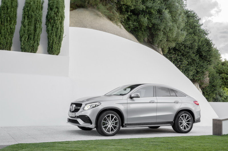 2016 Mercedes-Benz GLE63 AMG Coupe High Resolution Exterior - image 610155