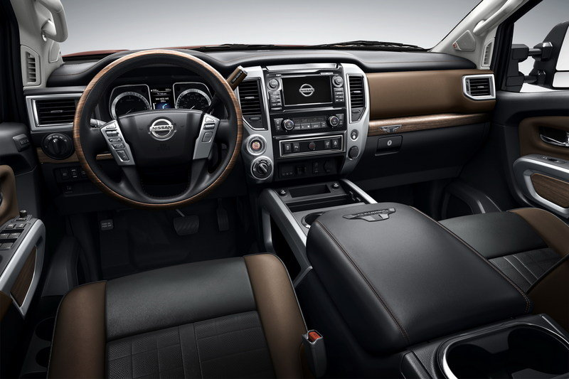 2016 Nissan Titan XD High Resolution Interior - image 610113