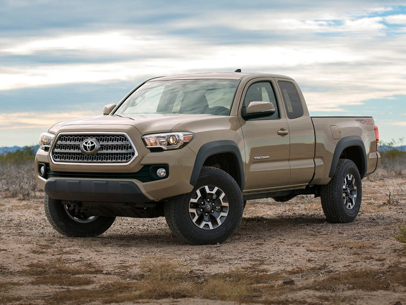 2016 Toyota Officially Reveals the Tacoma with a New V-6