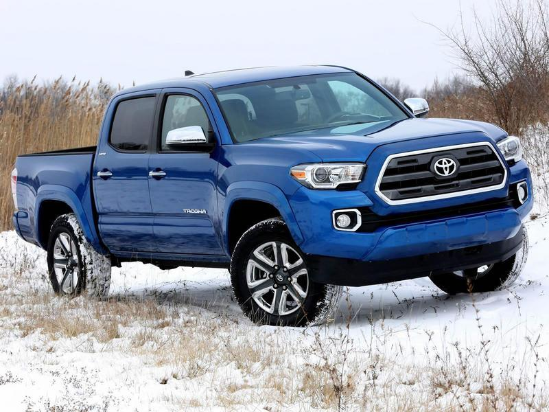 2016 Toyota Tacoma High Resolution Exterior - image 609409