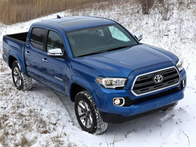 2016 Toyota Tacoma High Resolution Exterior - image 609397