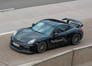 Spy Shots: Porsche Cayman GT4 Caught Free Of Camouflage - image 608690