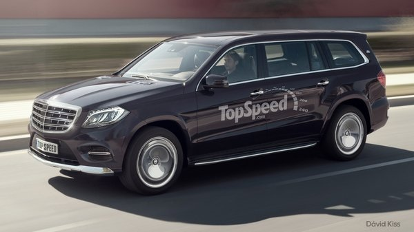 We have a sneaking suspicion that the next Mercedes-Maybach model will be the GLS SUV, so we created a rendering showing what we thin it may look like.