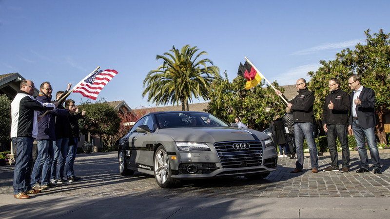 Audi A7 Piloted Driving Concept Will Take a 550-Mile Trip to CES