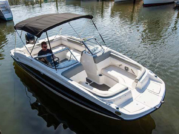 2014 Bayliner 190 Deck Boat Review Top Speed