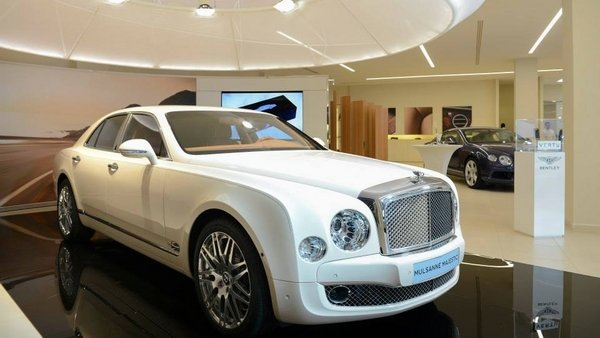 Just when you think Bentley can't on-up its own opulance, well, here comes a special model to show just how awesome the Mulsanne can be.