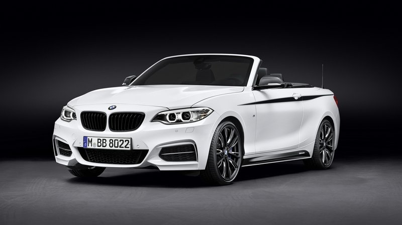 2015 BMW 220d Cabrio With M Performance Parts