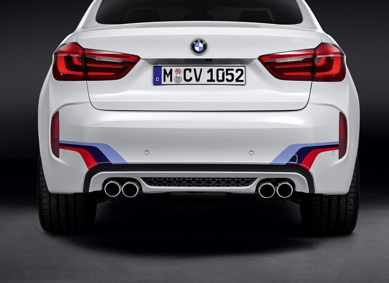 2015 BMW X6 M with BMW M Performance Parts