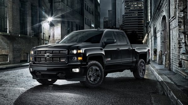 2015 Chevrolet Silverado 1500 >> 2015 Chevrolet Silverado Midnight Edition Review - Top Speed