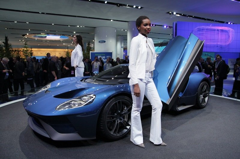 The Ladies of the Detroit Auto Show Were Paid $1,000 Per Day to be More Than Just Pretty Faces