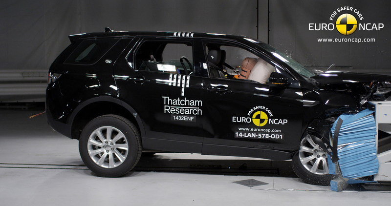 EuroNCAP Announces Best In Class Cars Of 2014