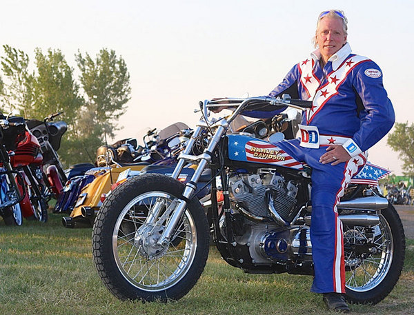 Evel Knievel S 1976 Harley Davidson Goes To Auction: Evel Knievel's Harley-Davidson To Fly Again At Sturgis