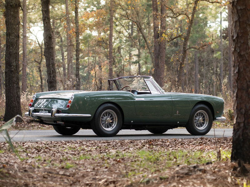 1960 Ferrari 400 Superamerica SWB Cabriolet by Pininfarina High Resolution Exterior - image 614363