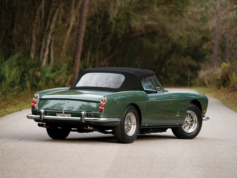 1960 Ferrari 400 Superamerica SWB Cabriolet by Pininfarina High Resolution Exterior - image 614400