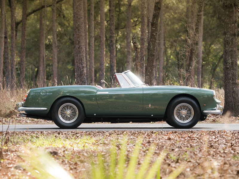 1960 Ferrari 400 Superamerica SWB Cabriolet by Pininfarina High Resolution Exterior - image 614366