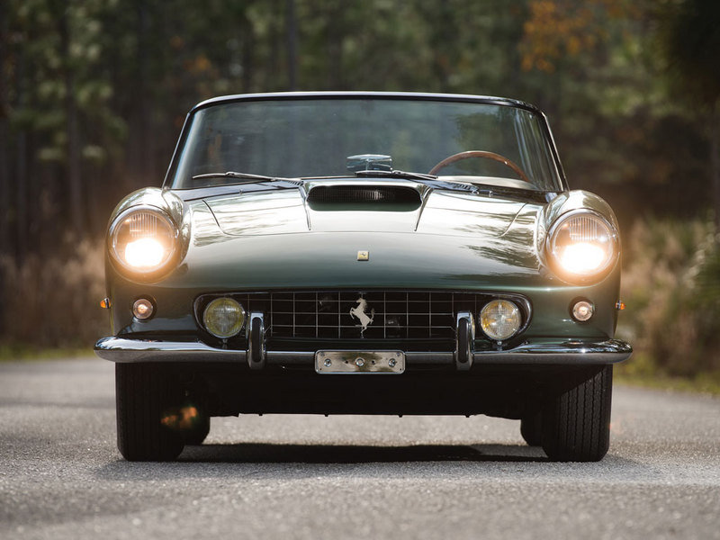 1960 Ferrari 400 Superamerica SWB Cabriolet by Pininfarina High Resolution Exterior - image 614367