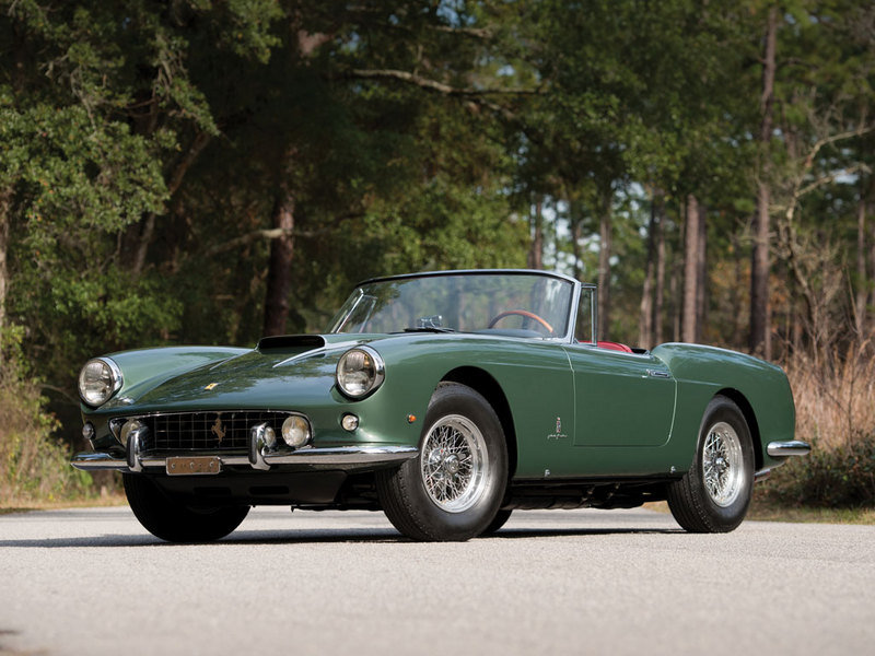1960 Ferrari 400 Superamerica SWB Cabriolet by Pininfarina High Resolution Exterior - image 614362