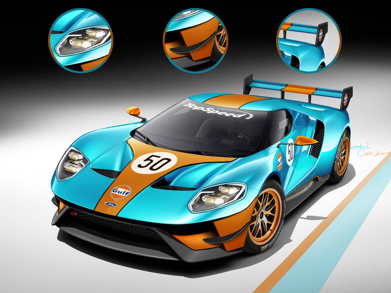 2016 Ford GT Le Mans High Resolution Exterior Exclusive Renderings - image 610998