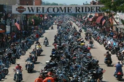 2015 Sturgis Motorcycle Rally Could Attract 1.2 Million Visitors