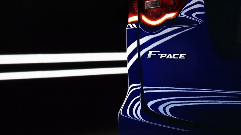 Jaguar Teases F-Pace Crossover in Detroit