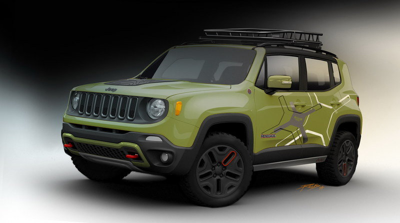 2015 Jeep Renegade Off-road Mopar-Equipped