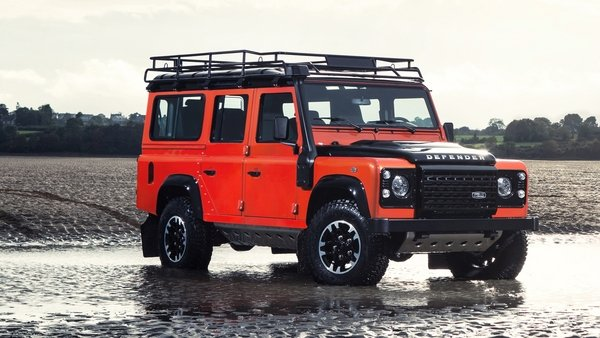 2015 land rover defender adventure edition truck review top speed. Black Bedroom Furniture Sets. Home Design Ideas