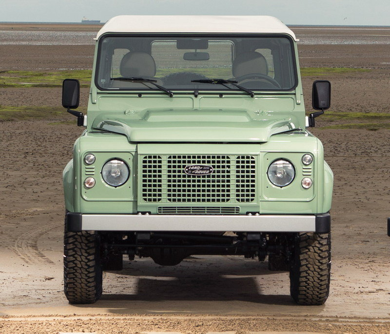 2015 Land Rover Defender Heritage Edition High Resolution Exterior - image 609168