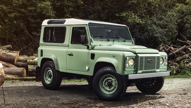 2015 Land Rover Defender Heritage Edition High Resolution Exterior - image 609175
