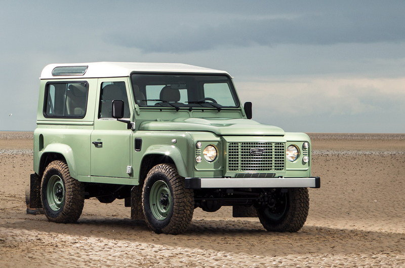 2015 Land Rover Defender Heritage Edition High Resolution Exterior - image 609167