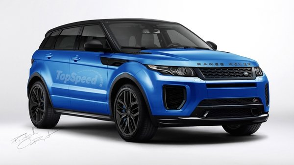 2016 land rover range rover evoque svr review top speed. Black Bedroom Furniture Sets. Home Design Ideas