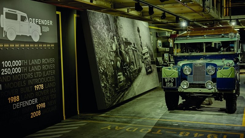 Land Rover Recreates 1948 Defender Production Line