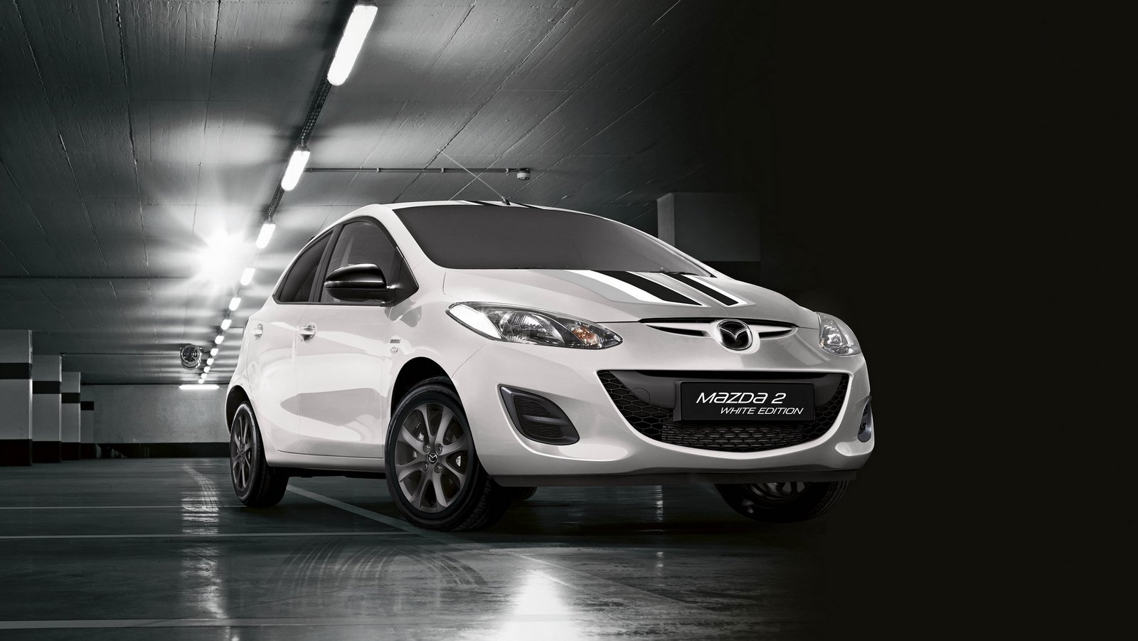 2015 mazda2 black and white edition review top speed. Black Bedroom Furniture Sets. Home Design Ideas