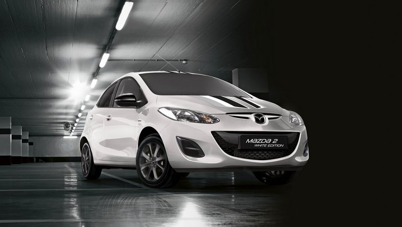 2015 Mazda2 Black And White Edition