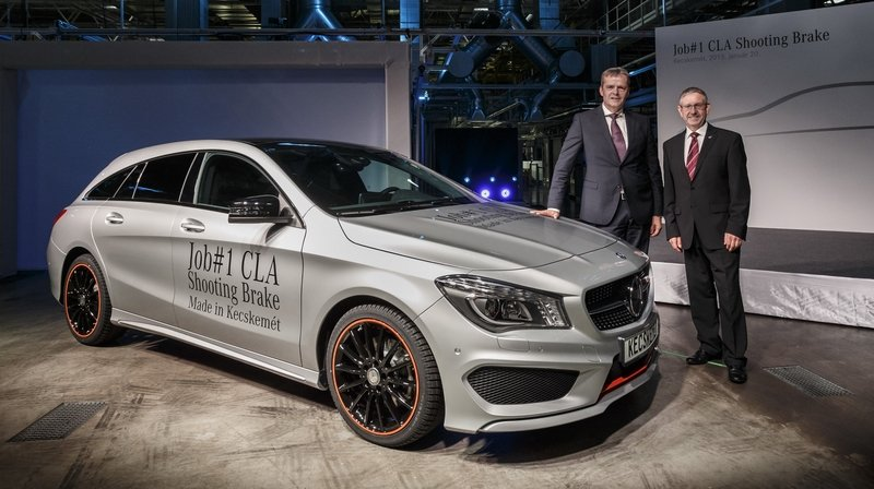 Mercedes-Benz CLA Shooting Brake Goes Into Production