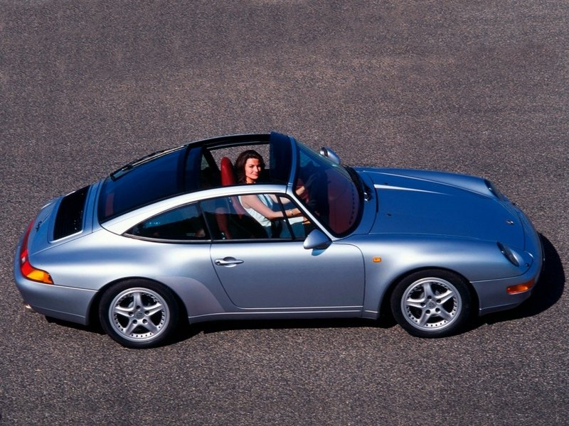 1996 - 1998 Porsche 911 Targa (993) High Resolution Exterior - image 609825