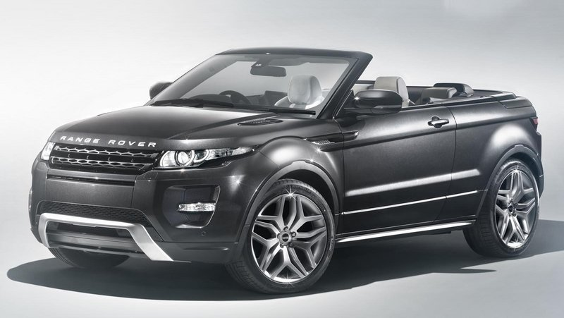 Range Rover Evoque Convertible Will Enter Production
