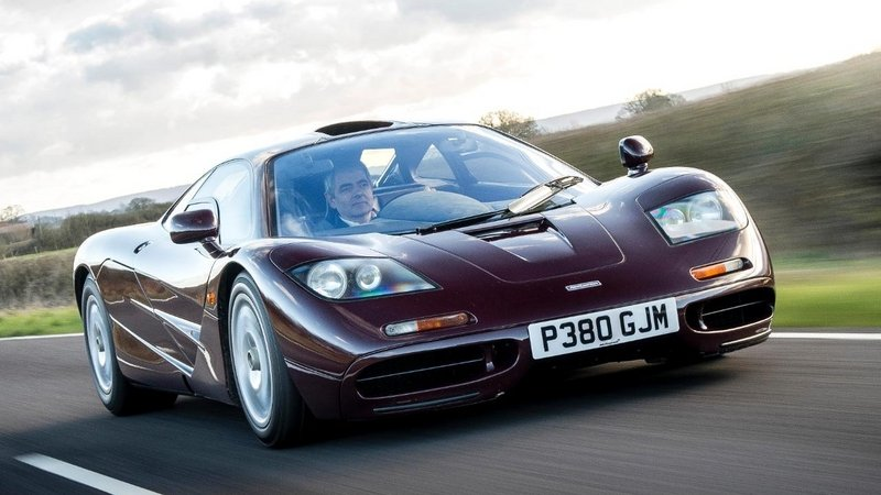 Rowan Atkinson's McLaren F1 can be Yours for $12M