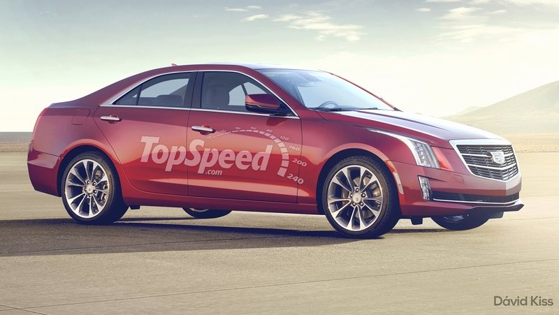 2017 Cadillac CT2 Computer Renderings and Photoshop - image 614177
