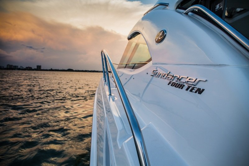 2015 Sea Ray 410 Sundancer Top Speed