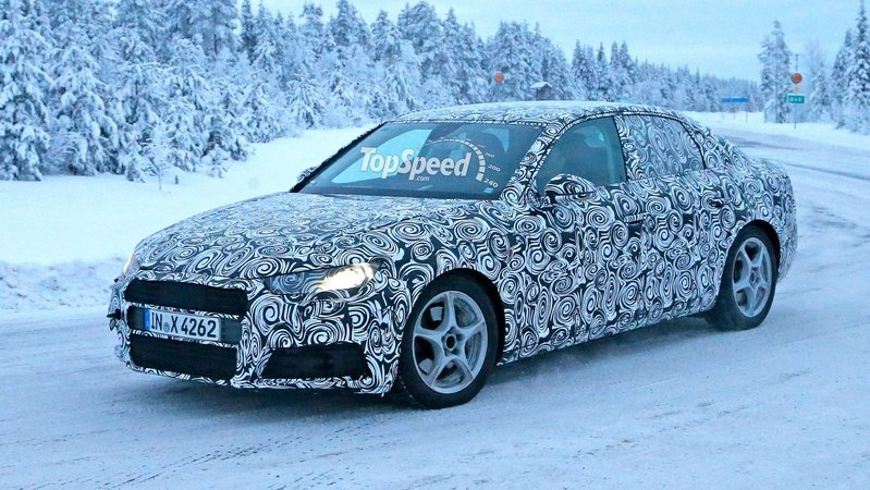 Spy Shots: 2016 Audi A4 Caught in Wintery Conditions